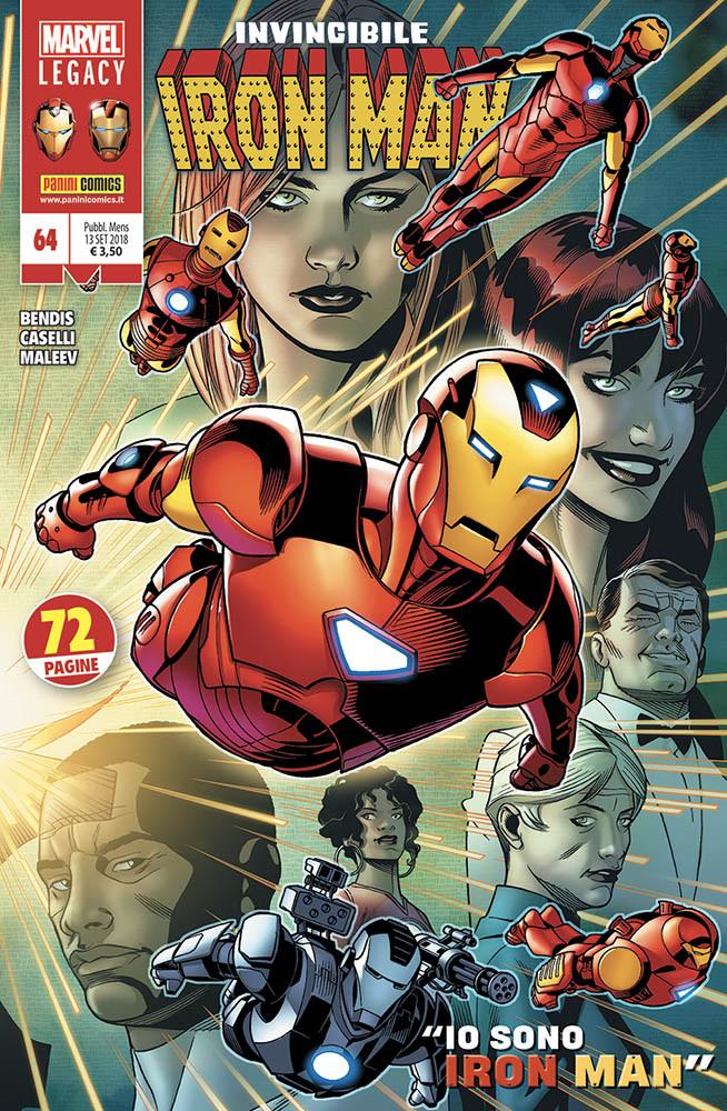 Invincibile Iron Man 64, copertina di Chris Sprouse