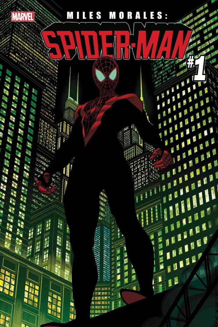 Miles Morales Spider-Man #1, copertina di Brian Stelfreeze