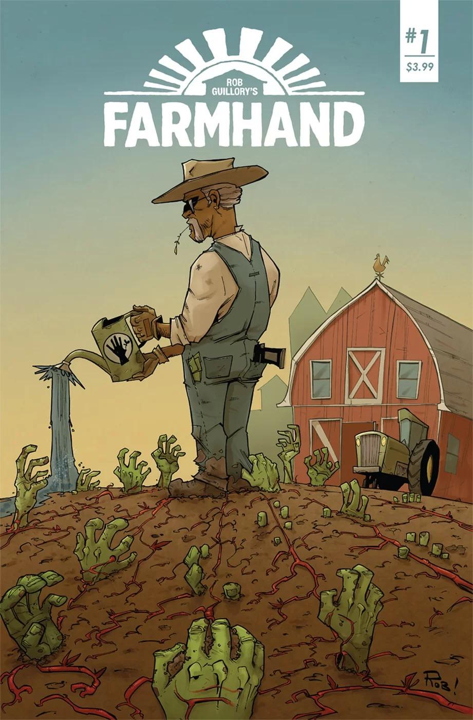 Farmhand #1, copertina di Rob Guillory