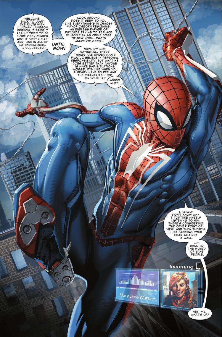 Spider-Geddon #0, anteprima 01