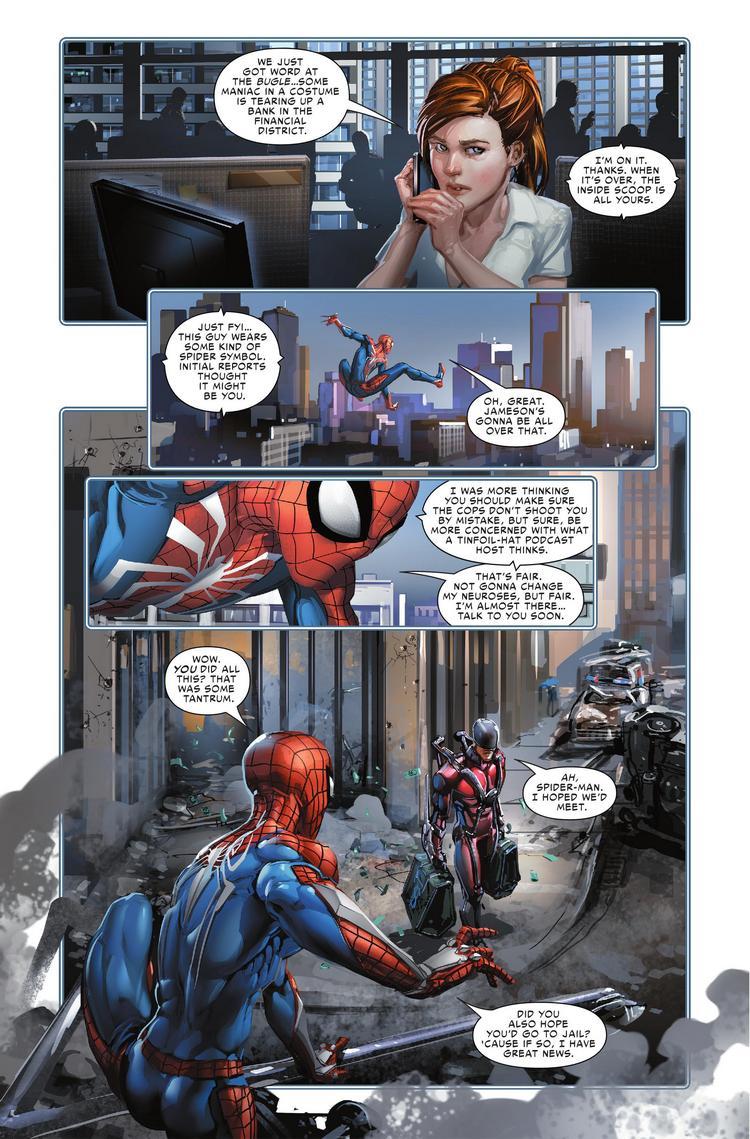 Spider-Geddon #0, anteprima 02