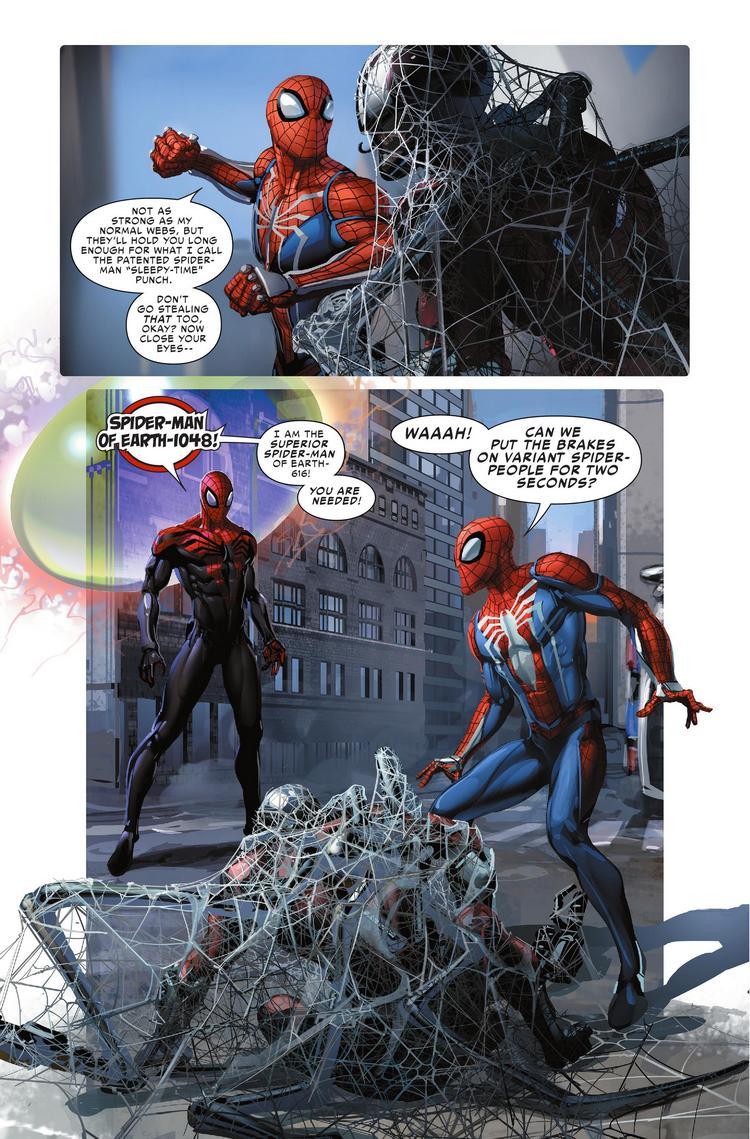 Spider-Geddon #0, anteprima 05