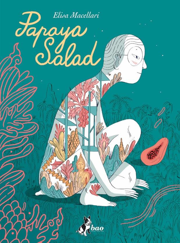 Papaya Salad, copertina di Elisa Macellari