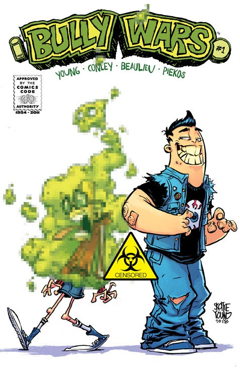 Bully Wars #1, variant cover di Skottie Young