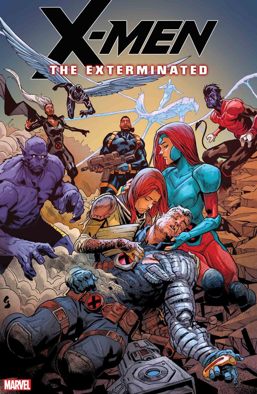 X-Men The Exterminated, copertina di Geoff Shaw