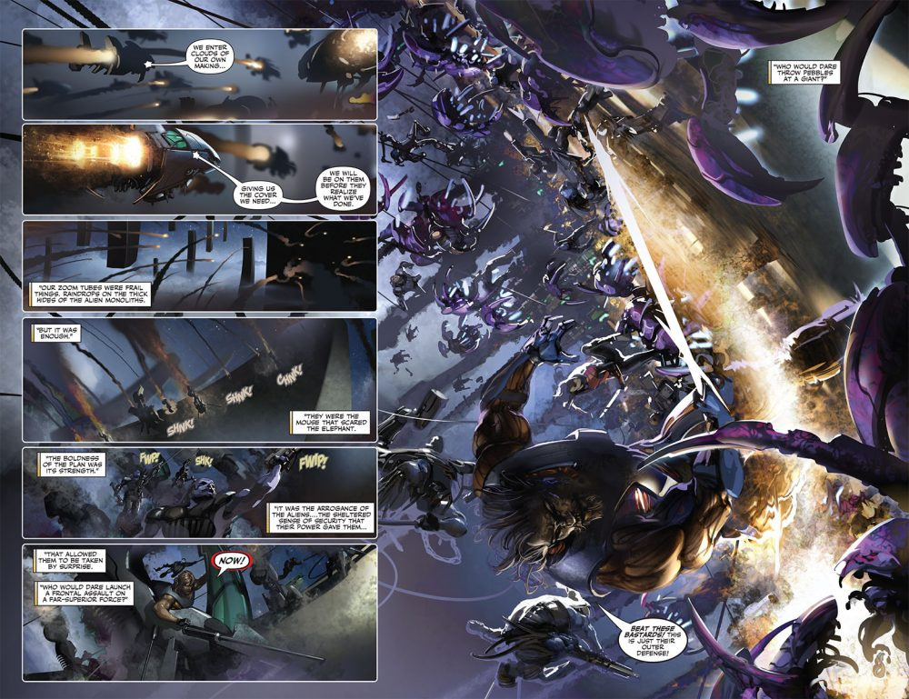 X-O Manowar #7, anteprima 03