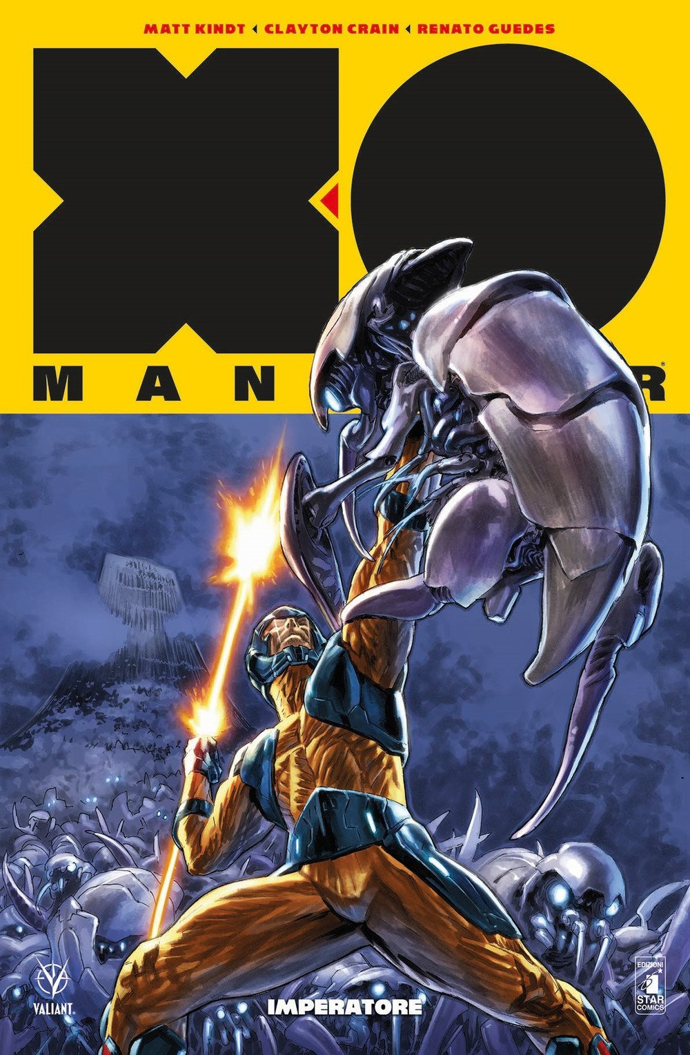 X-O Manowar vol. 3: Imperatore, copertina di Lewis LaRosa