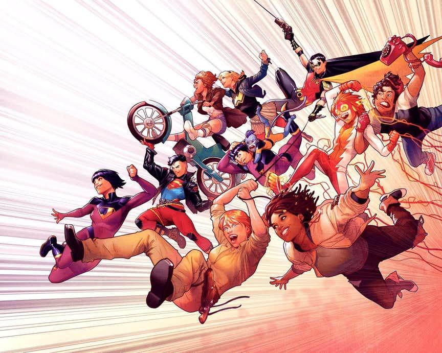 Wonder Comics, teaser