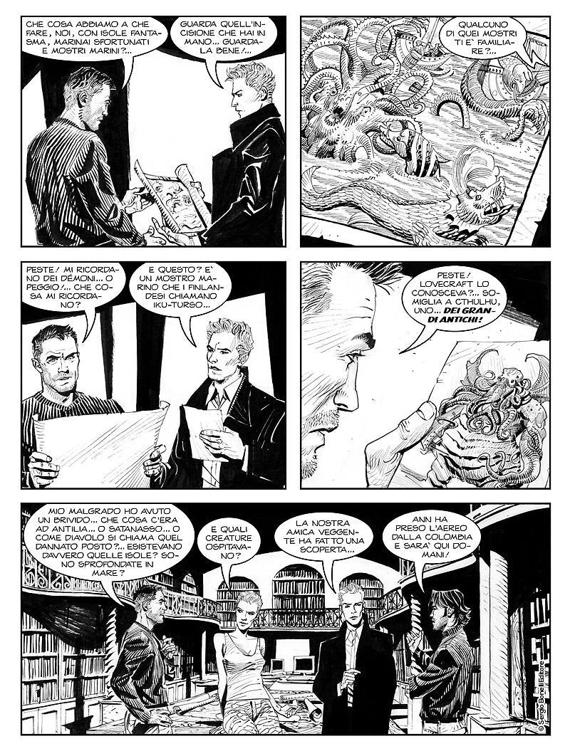 Dampyr 222: Il suicidio di Aleister Crowley, anteprima 01