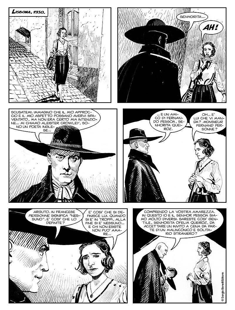 Dampyr 222: Il suicidio di Aleister Crowley, anteprima 02