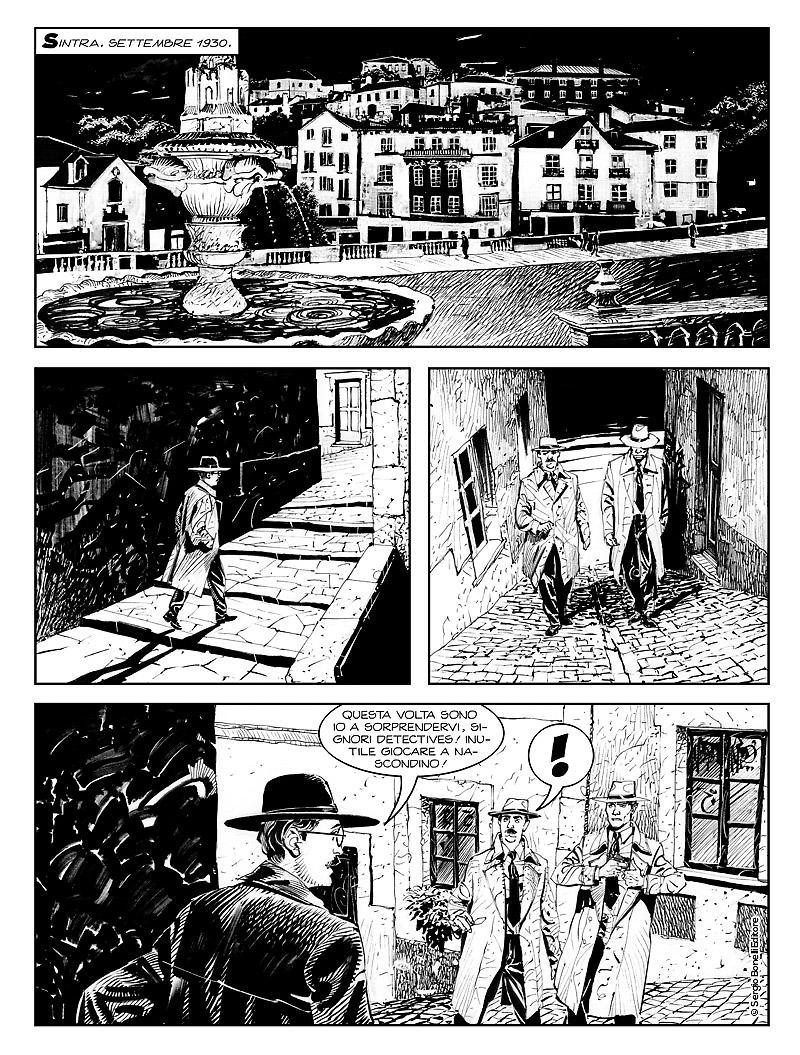 Dampyr 222: Il suicidio di Aleister Crowley, anteprima 03