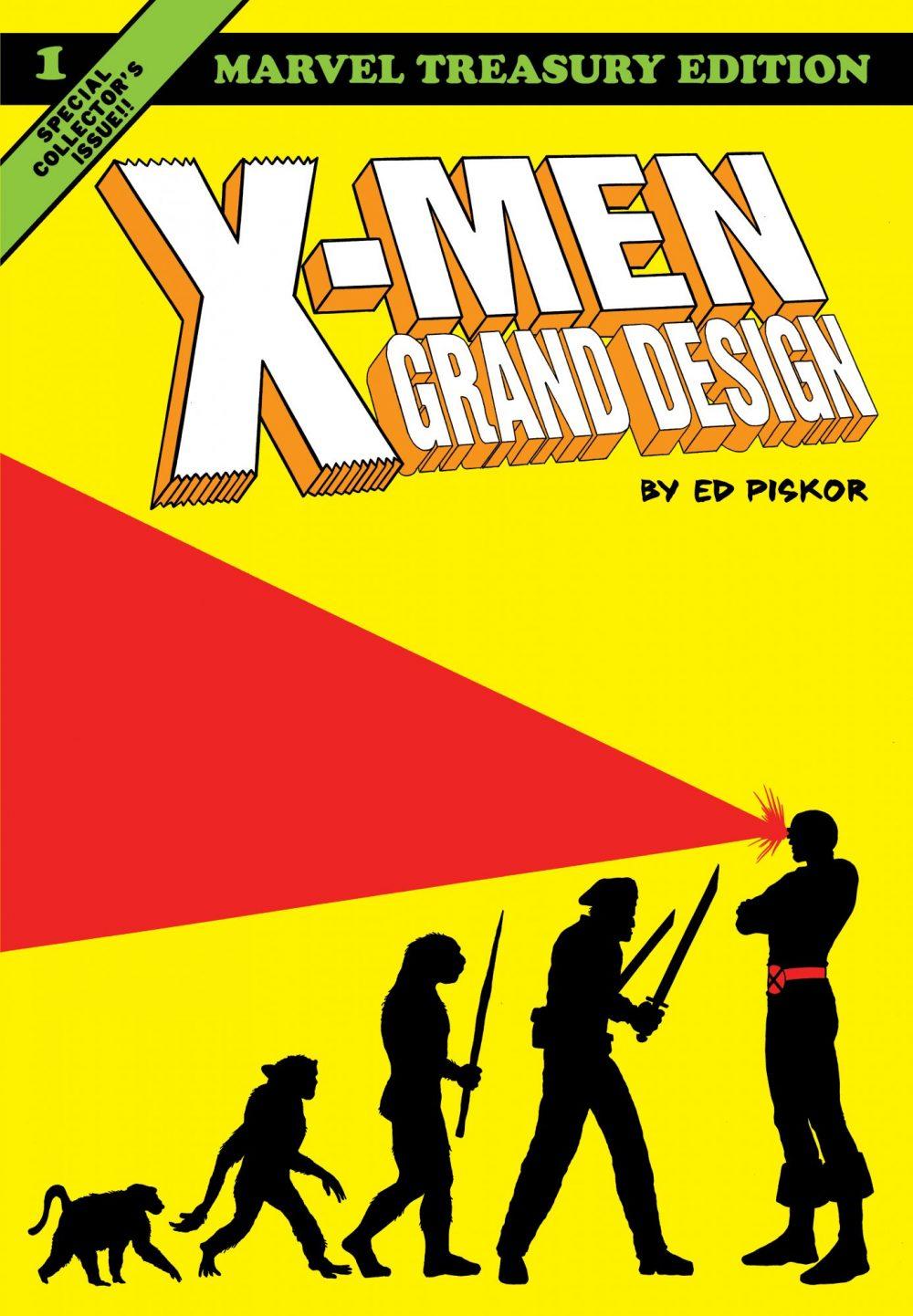 X-Men Grand Design vol. 1, copertina di Ed Piskor