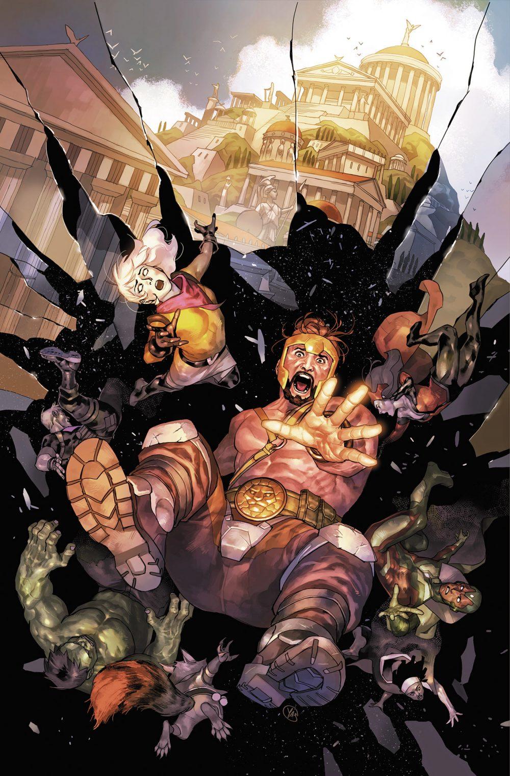 Avengers: No Road Home #1, copertina di Yasmine Putri
