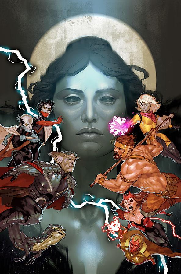 Avengers: No Road Home #2, copertina di Yasmine Putri
