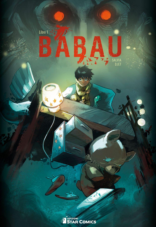 Babau vol. 1, copertina di Djet