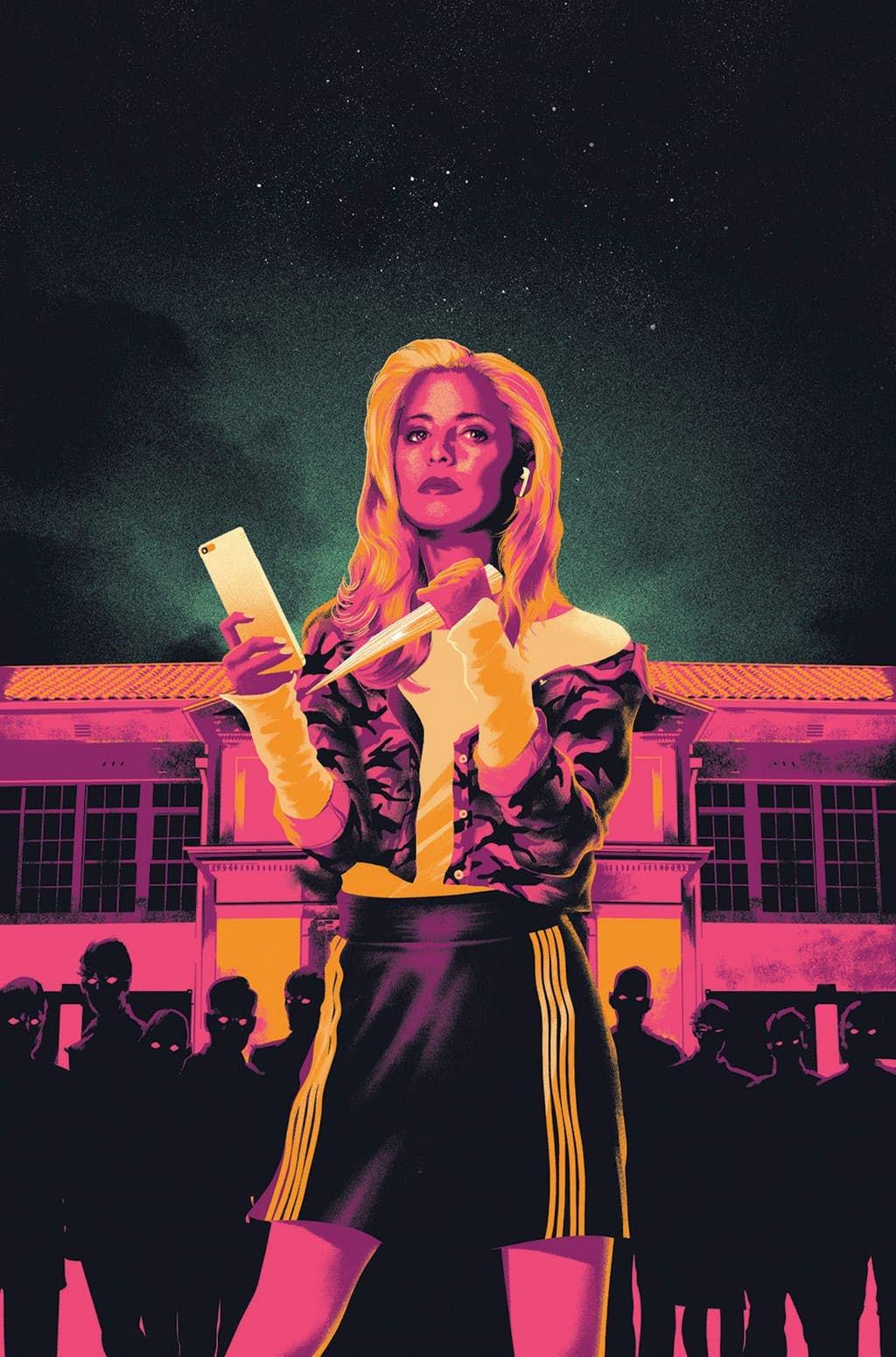 Buffy: The Vampire Slayer #1, copertina di Matt Taylor