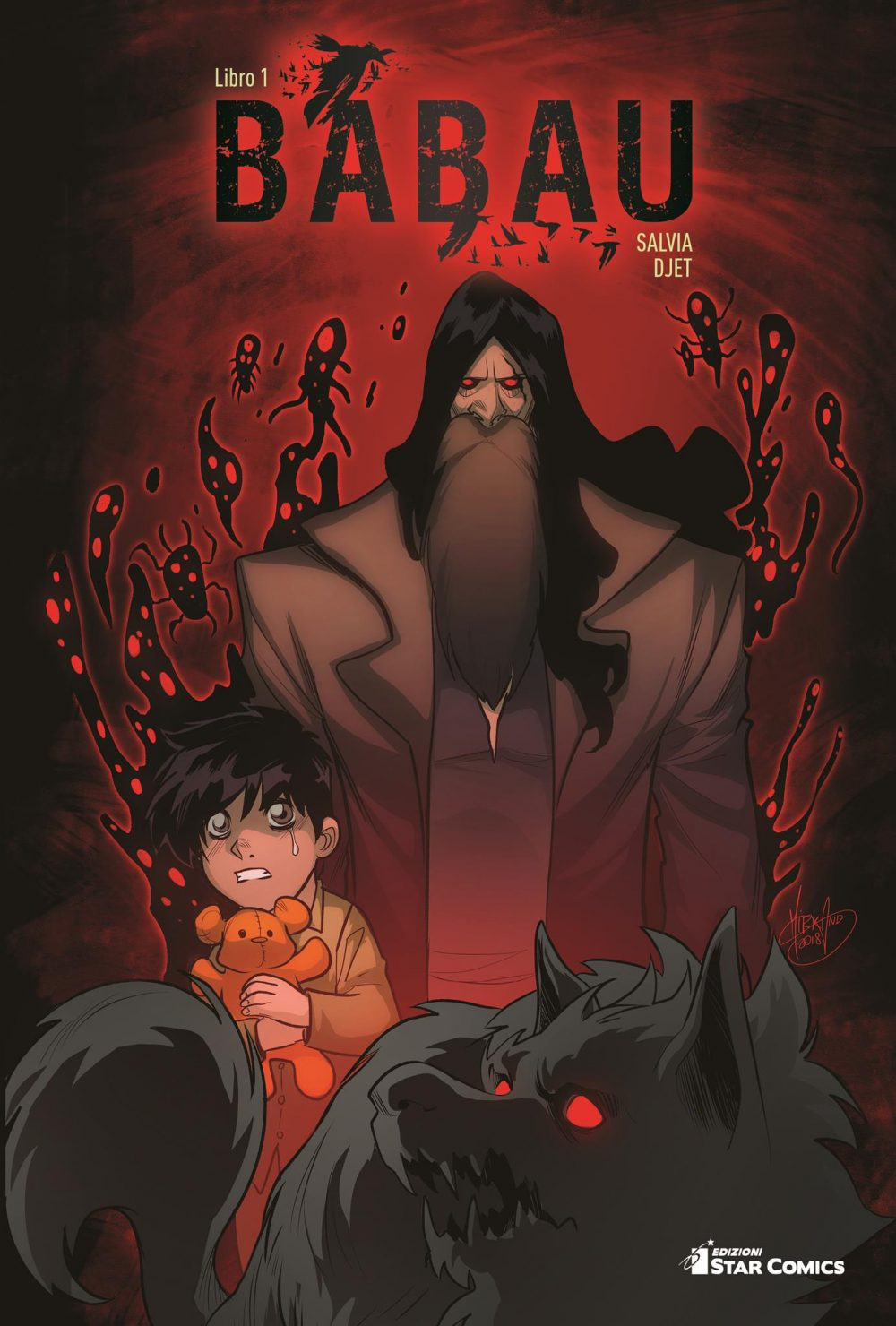 Babau vol. 1, copertina variant di Mirka Andolfo