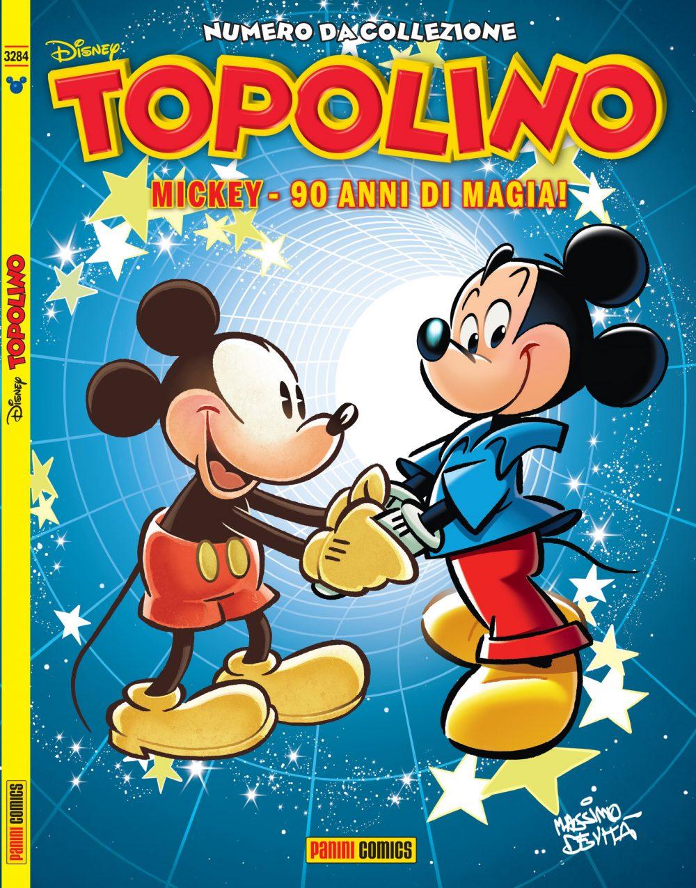 Topolino 3284, copertina variant di Massimo De Vita