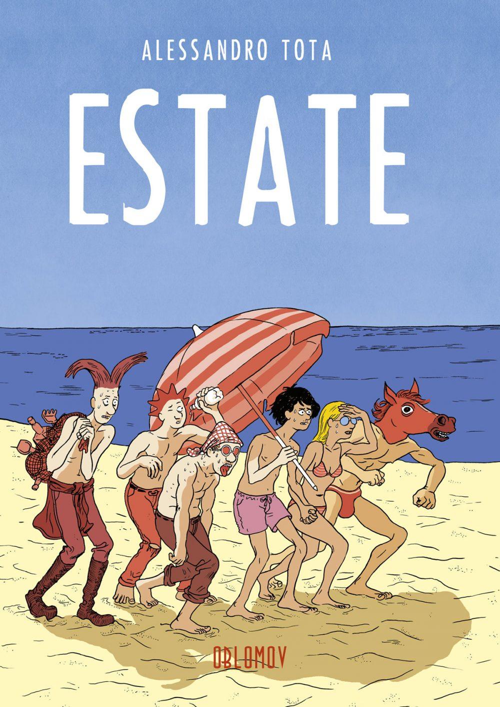 Estate, copertina di Alessandro Tota