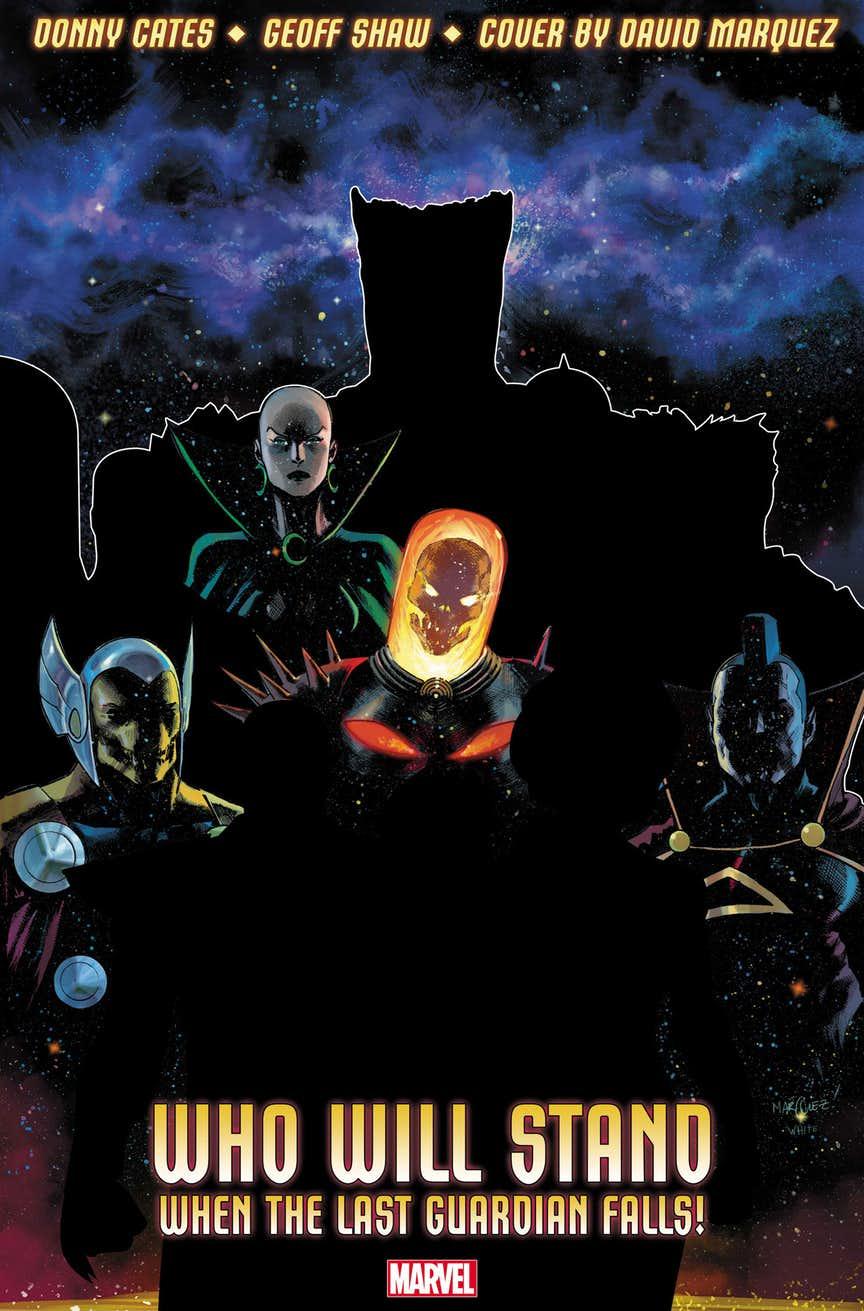 Guardians of the Galaxy, immagine promozionale di David Marquez