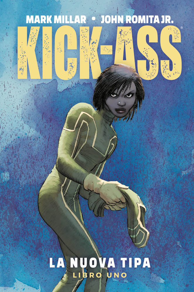 Kick-Ass vol. 1: La nuova tipa, copertina di John Romita Jr
