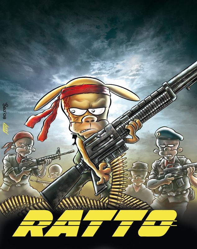 Rat-Man Collection 70, copertina di Leo Ortolani