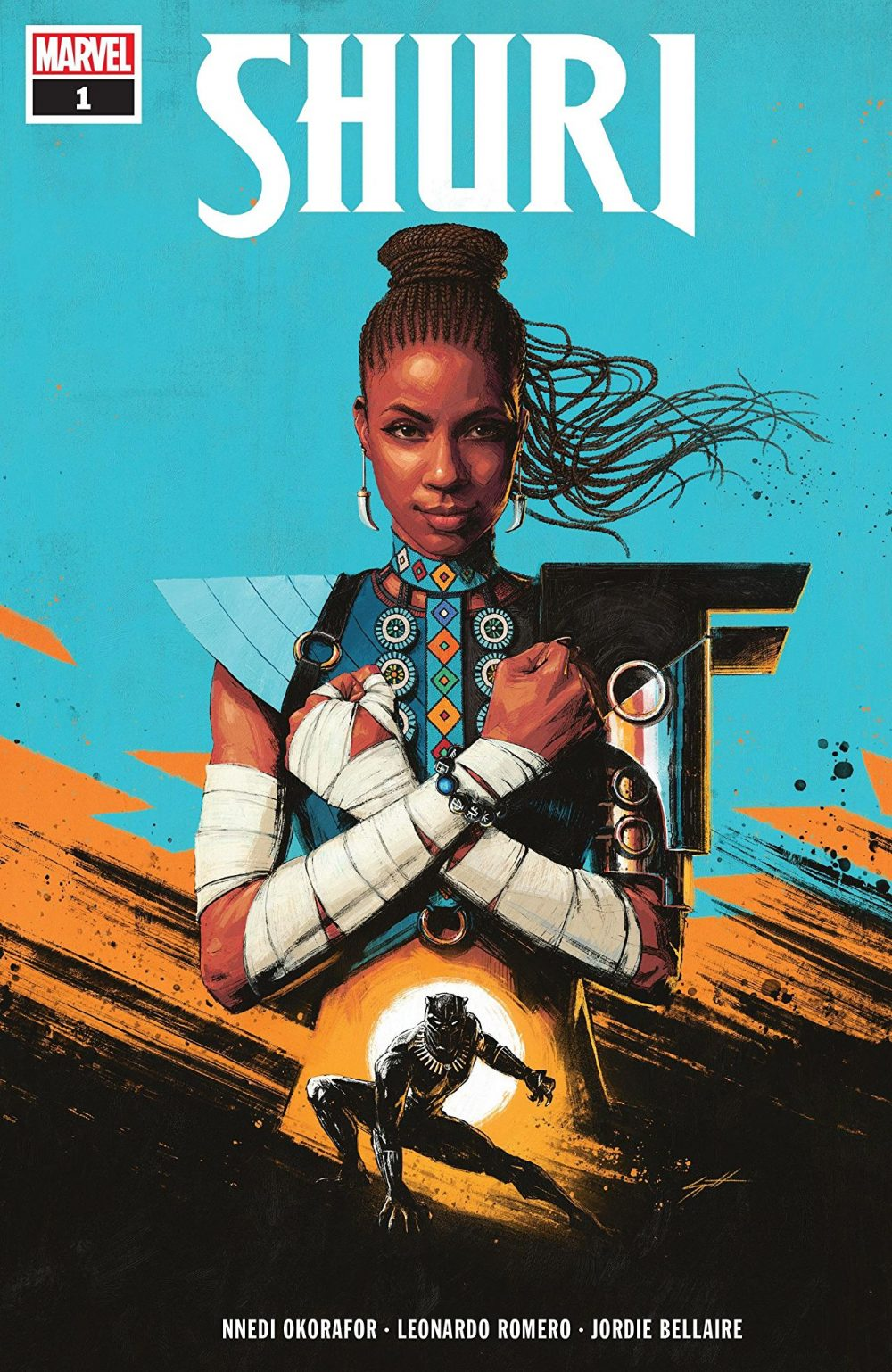 Shuri #1, copertina di Sam Spratt