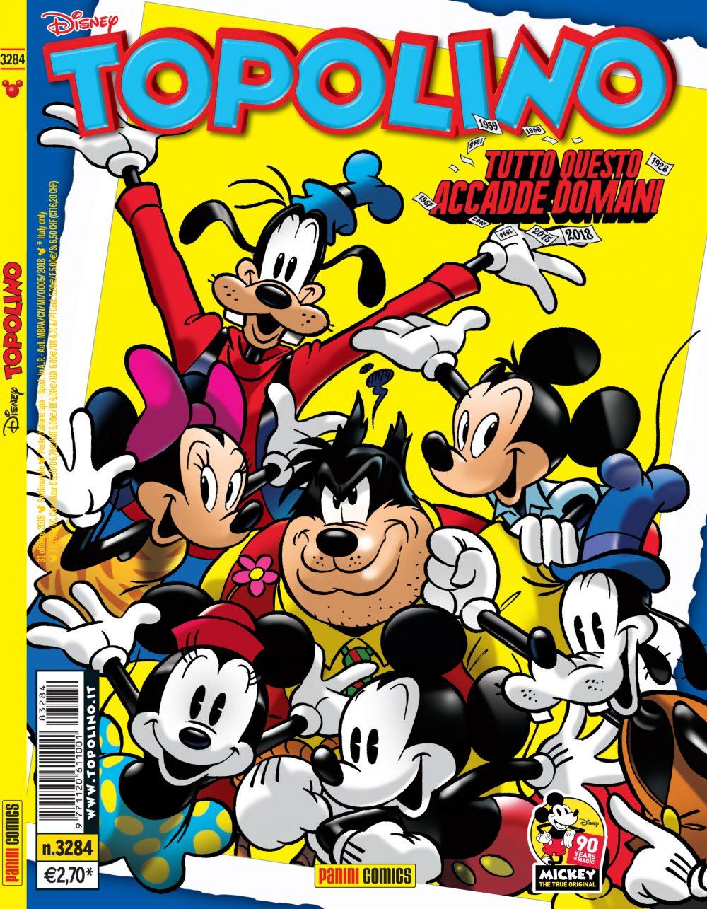Topolino 3284, copertina di Casty