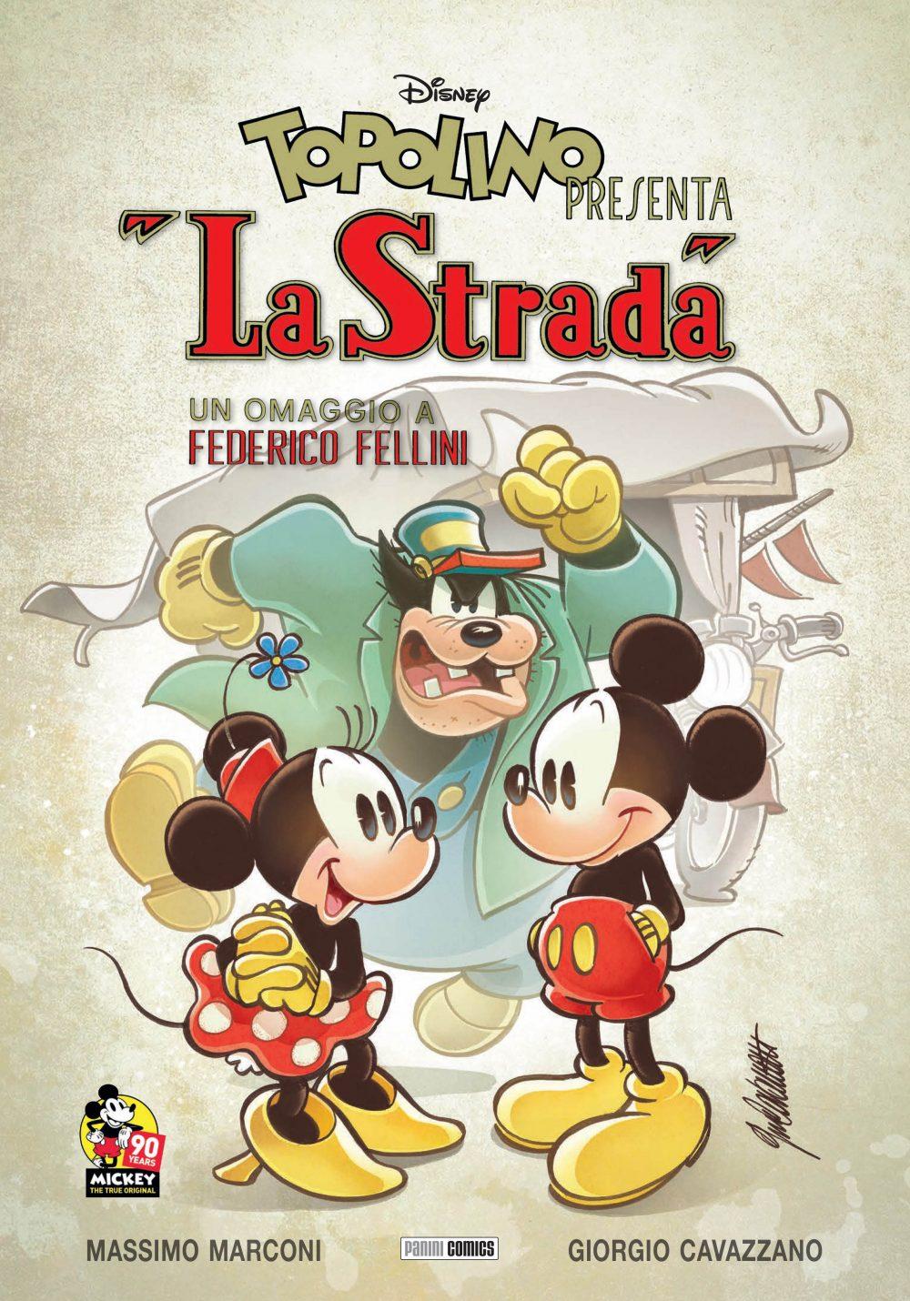 Topolino: La Strada, copertina di Giorgio Cavazzano