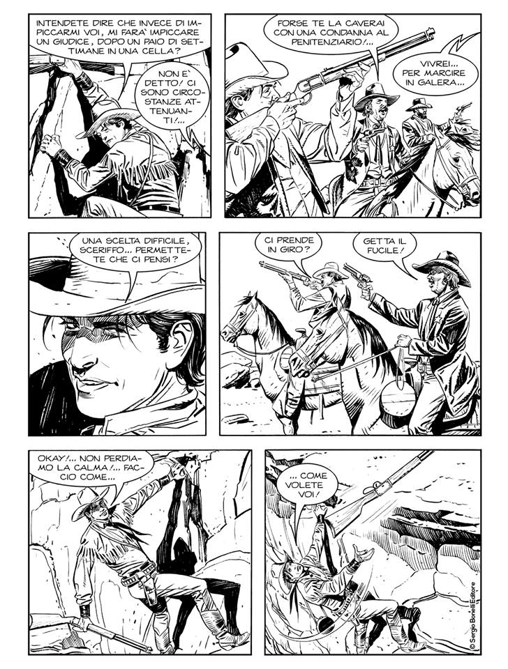 Tex Willer 1: Vivo o morto, anteprima 01