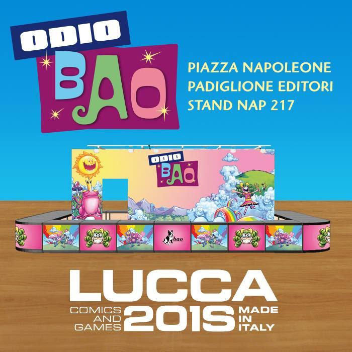 BAO Publishing a Lucca Comics & Games 2018