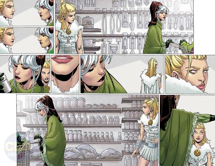 X-Men: Black - Emma Frost, anteprima 02