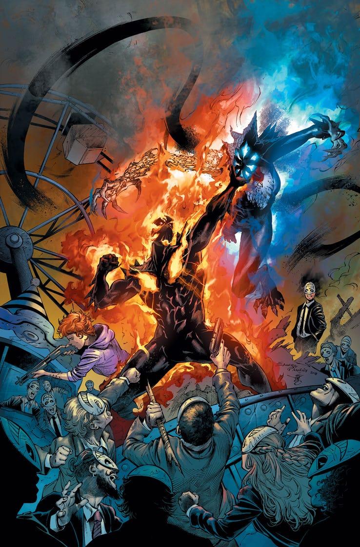 Curse of Brimstone #11, copertina di Eduardo Pansica