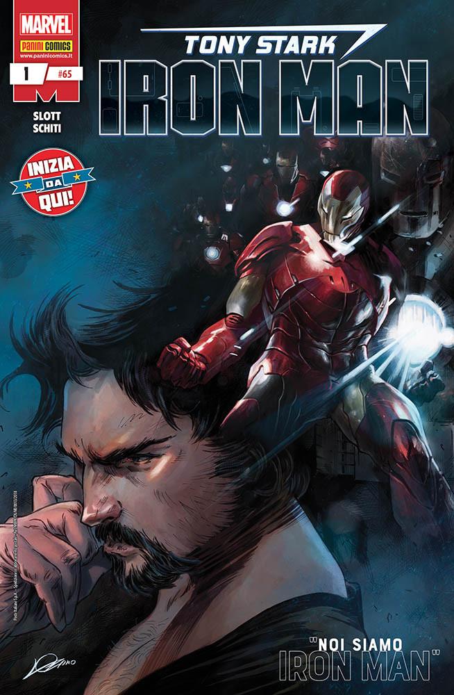 Tony Stark: Iron Man 1, copertina di Alexander Lozano
