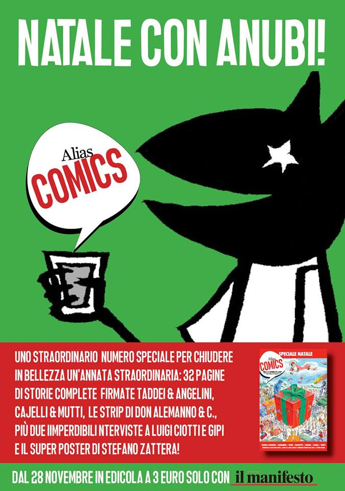 Alias Comics: Natale con Anubi