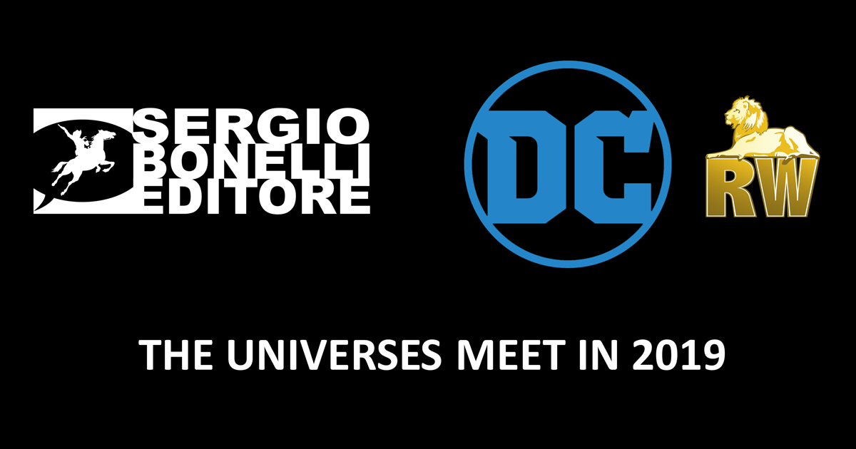 Dc Comics, Sergio Bonelli Editore, RW Edizioni