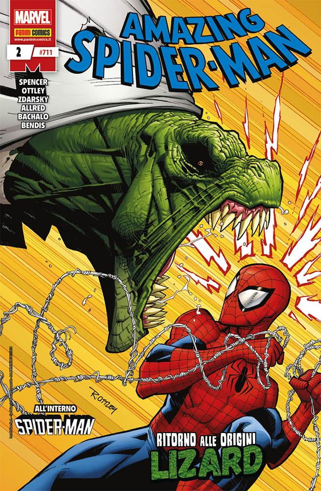 Amazing Spider-Man 2, copertina di Ryan Ottley