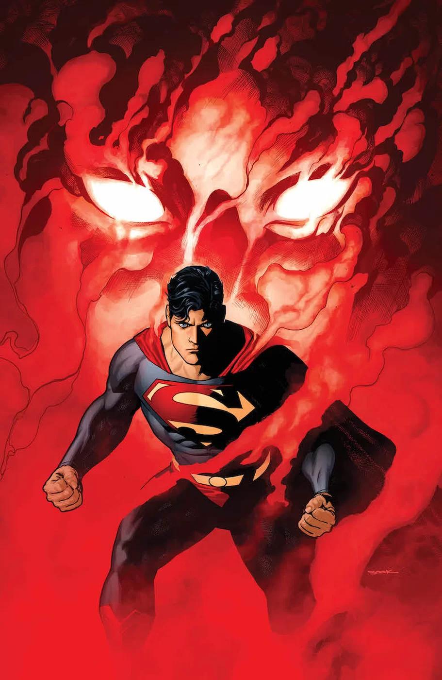 Action Comics #1005, copertina di Ryan Sook