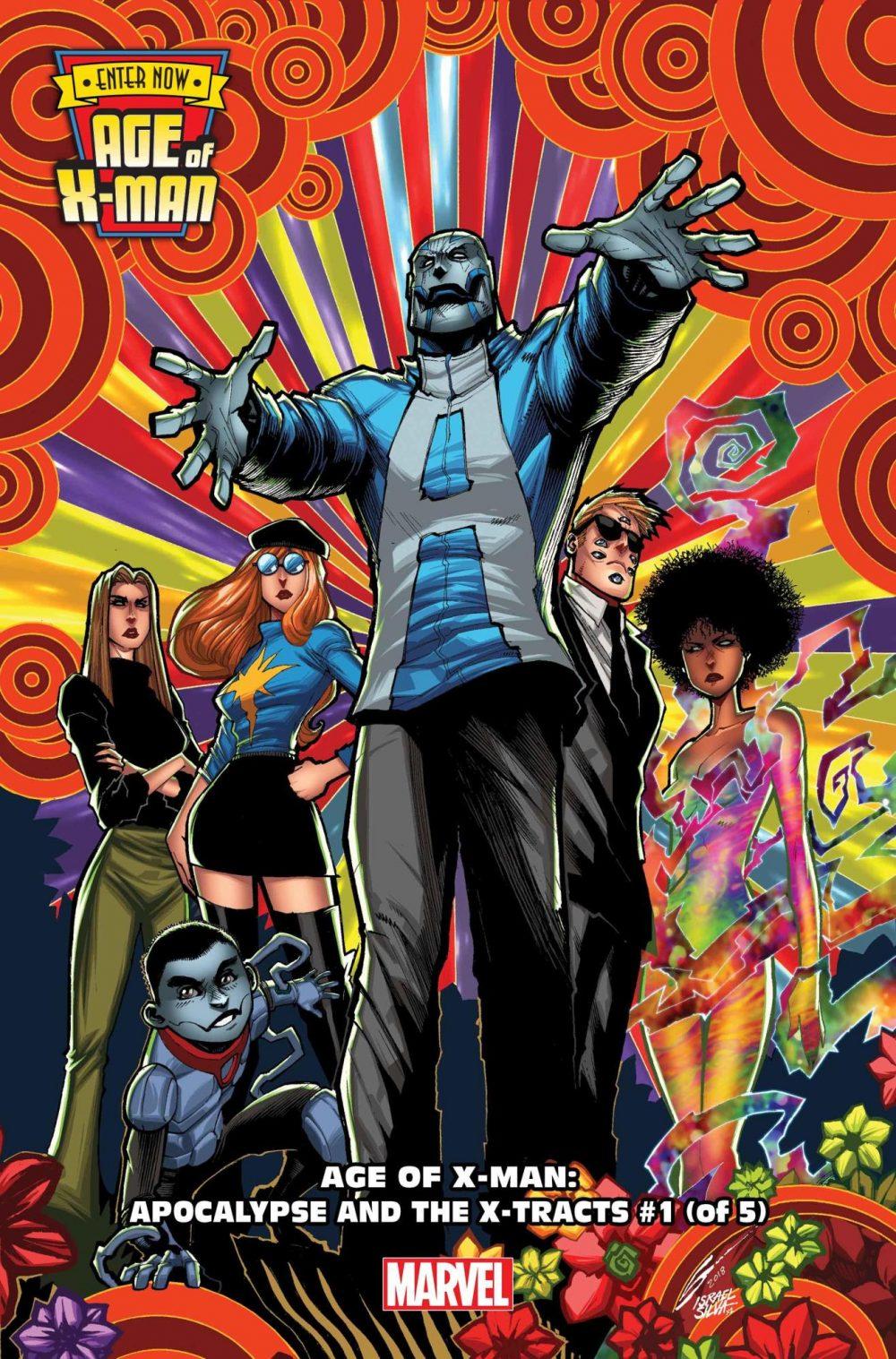 Age of X-Man: Apocalypse and the X-Tracts #1, copertina di Gerardo Sandoval