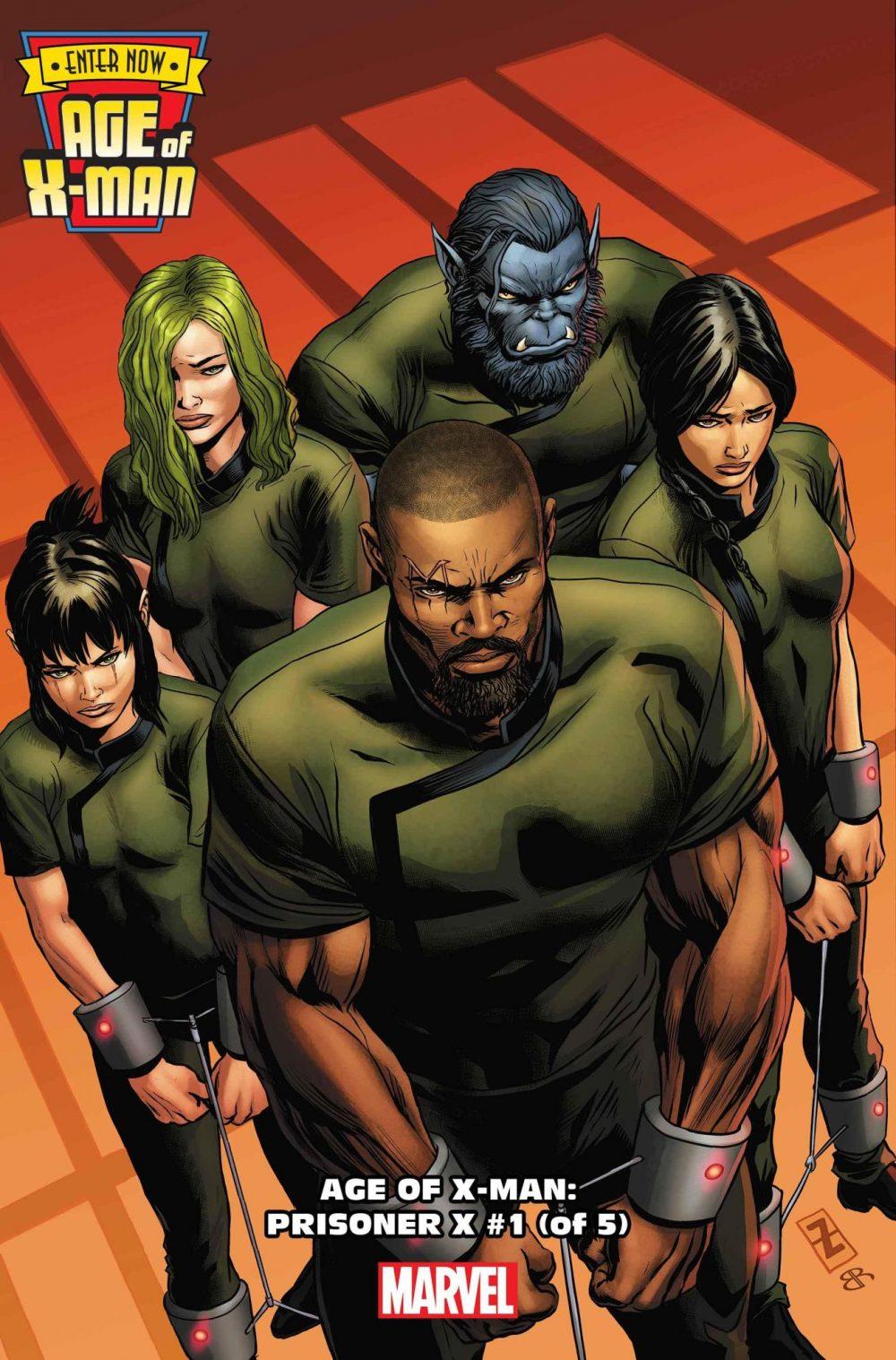 Age of X-Man: Prisoner X #1, copertina di Patch Zircher