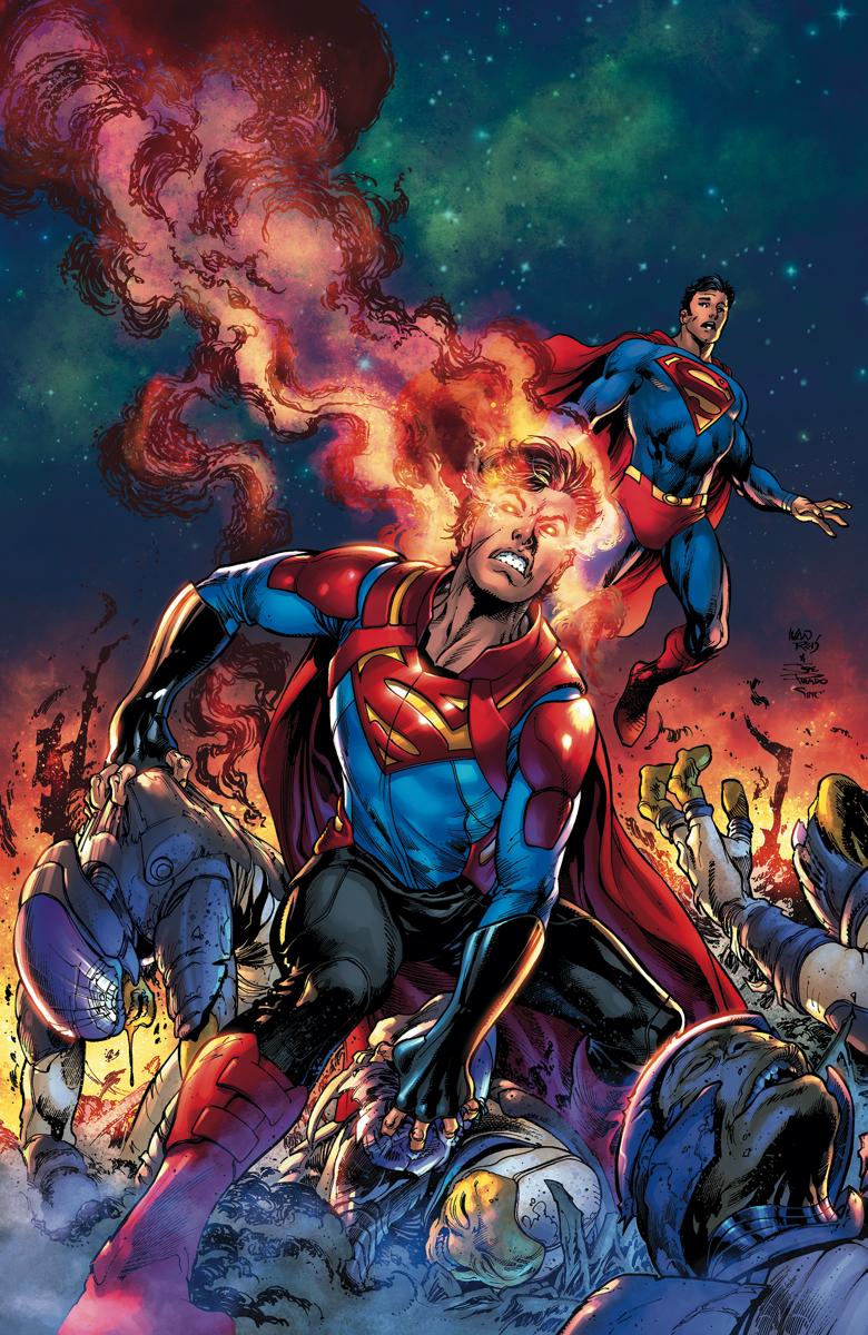 Superman #8, copertina di Ivan Reis