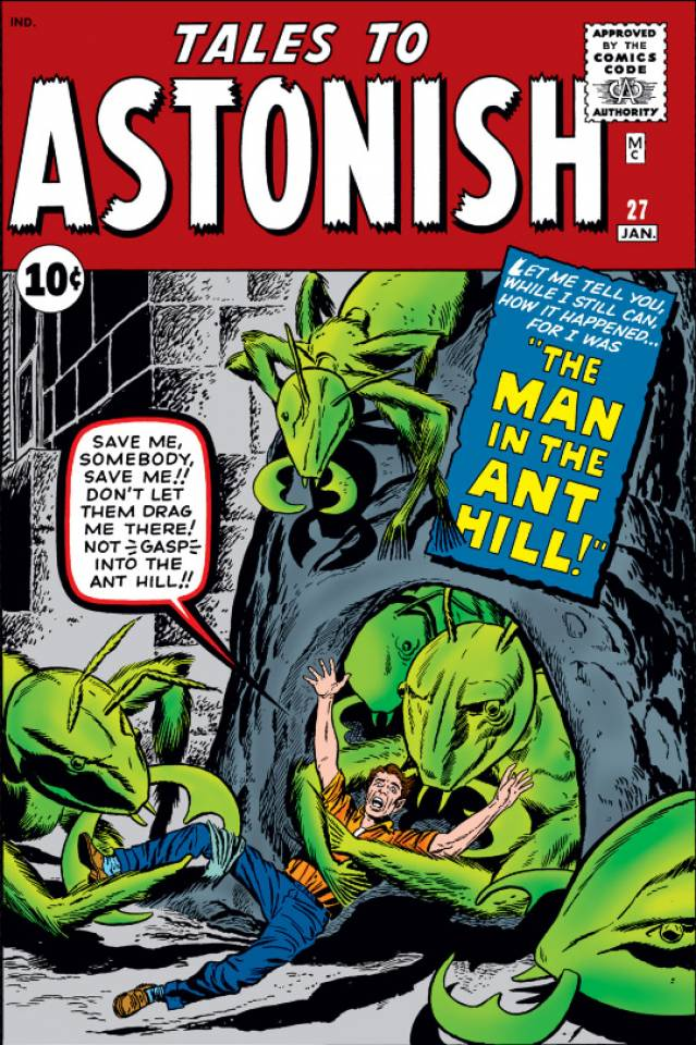 Tales to Astonish #27, copertina di Jack Kirby