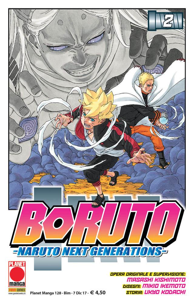 Boruto – Naruto Next Generations 2, copertina di Mikio Ikemoto