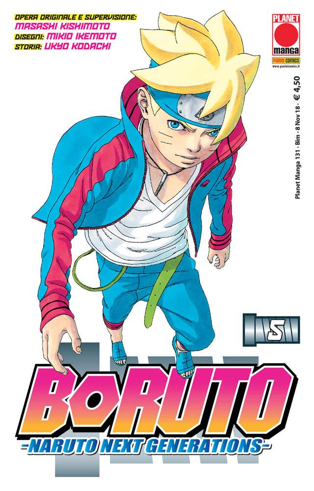Boruto – Naruto Next Generations 5, copertina di Mikio Ikemoto