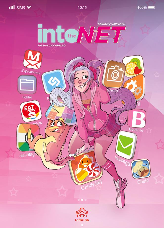 Into the Net, copertina di Milena Ciccarello