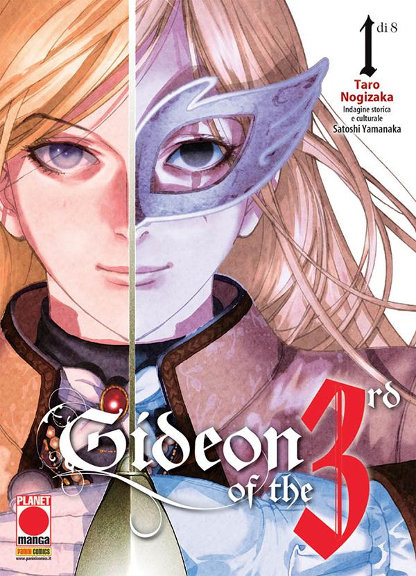 Gideon of the 3rd – Storia di un rivoluzionario vol. 1, copertina di Taro Nogizaka