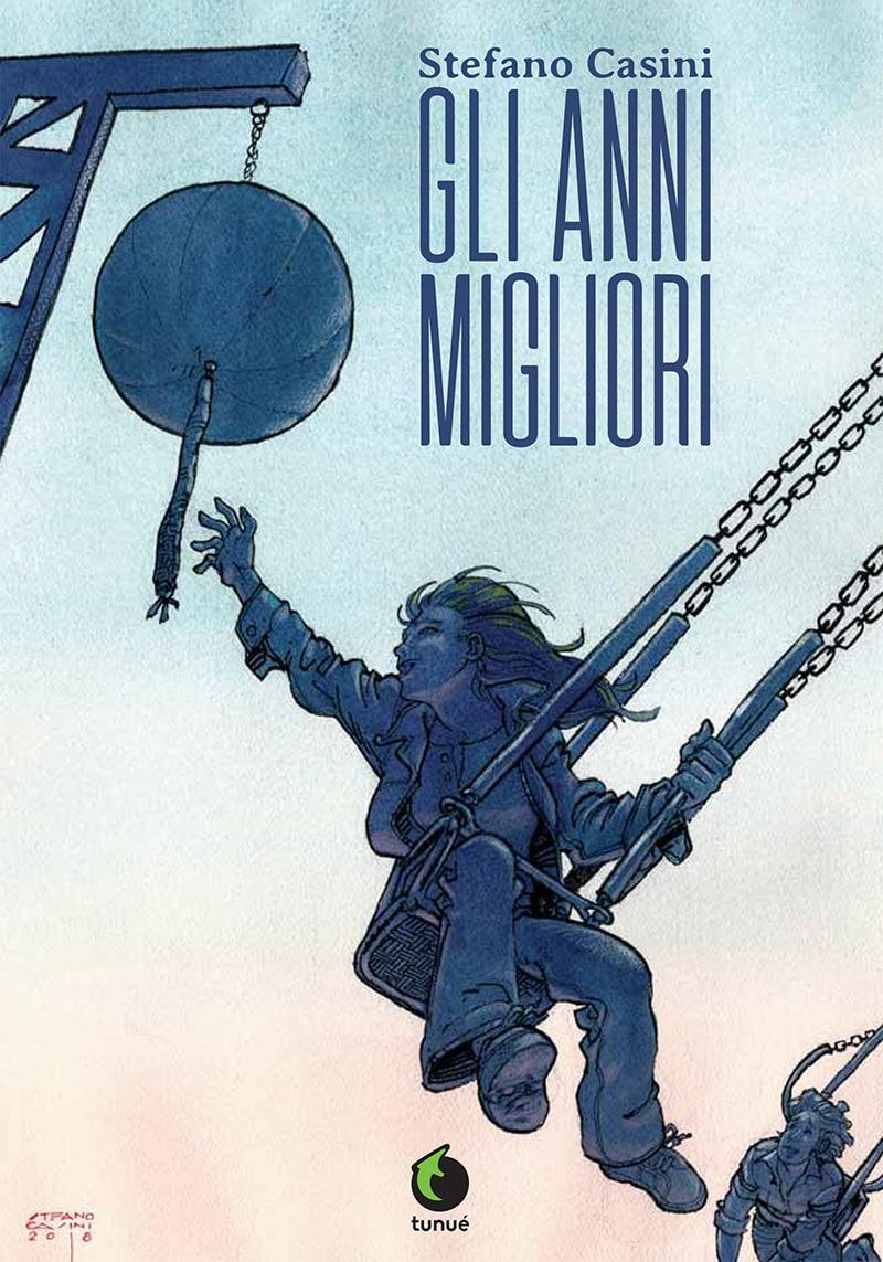 Gli anni migliori, copertina di Stefano Casini