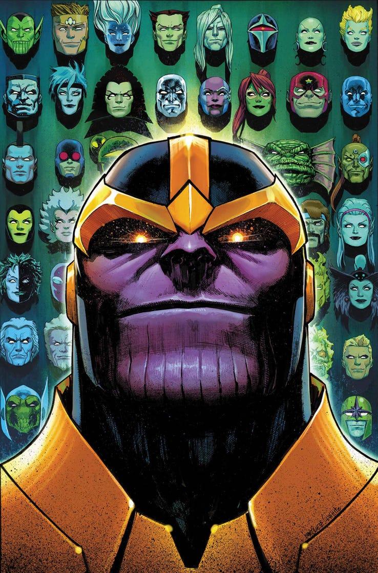 Guardians of the Galaxy #1, copertina di Geoff Shaw