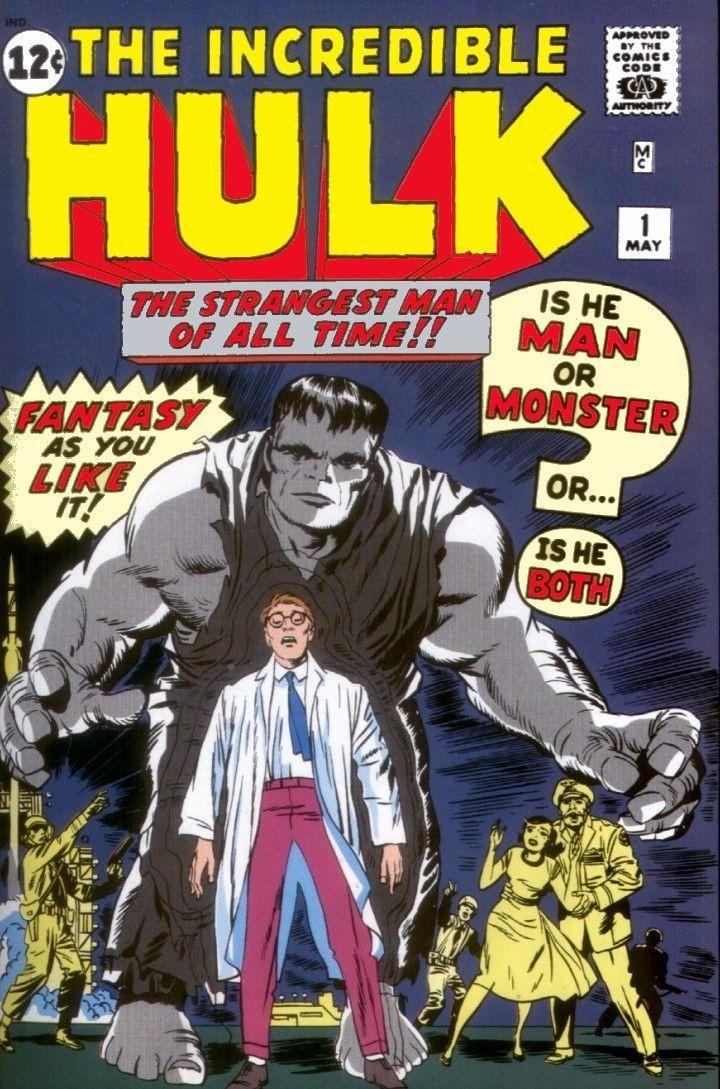 Incredible Hulk #1, copertina di Jack Kirby