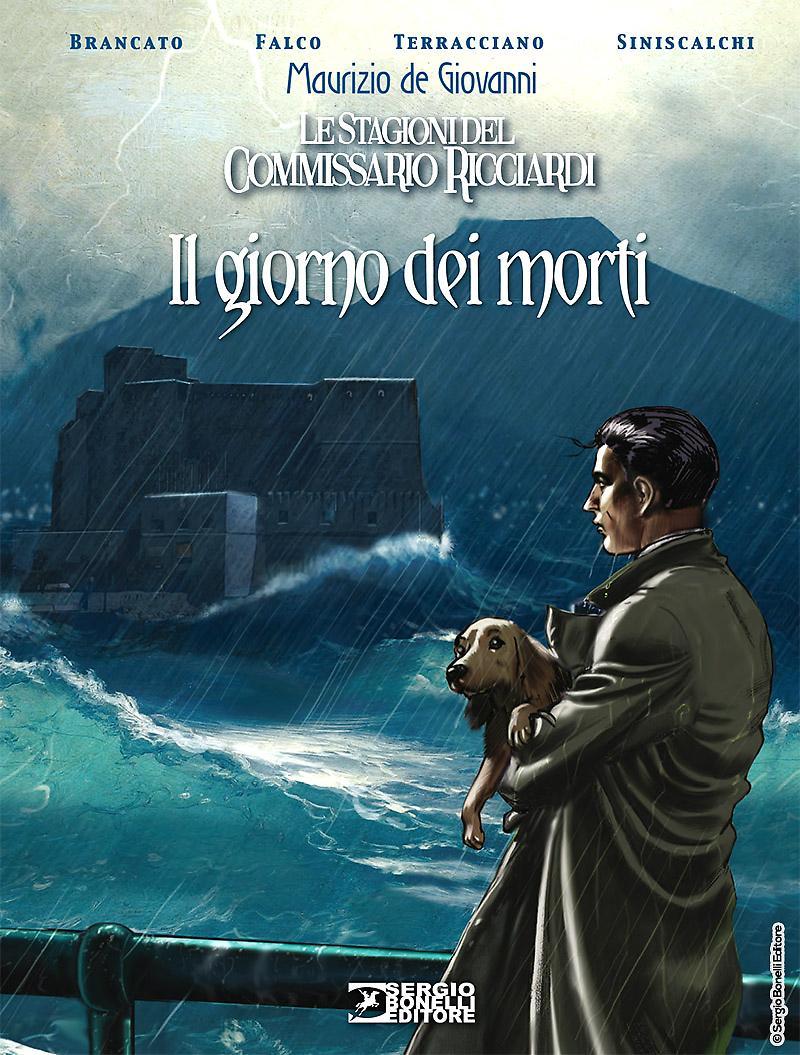 Le stagioni del Commissario Ricciardi: Il giorno dei morti, copertina di Daniele Bigliardo